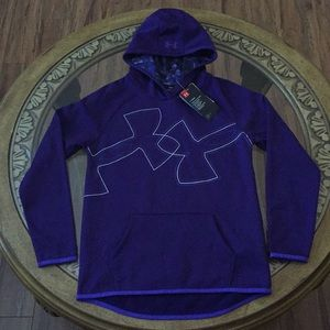 UNDER ARMOUR COLD GEAR (YL) GIRLS HOODIE